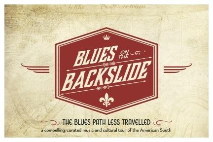 Blues on the Backslide postcard front